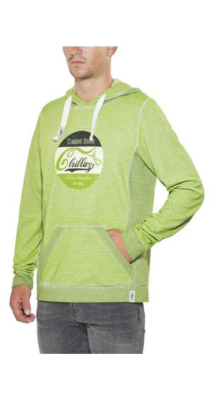 Chillaz Vail Retro Hoodie Herrer grøn/oliven